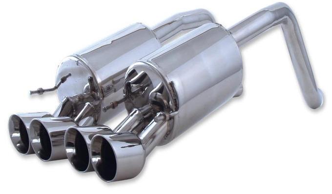 C7 Corvette Z06 Billet Boat Fusion Exhaust System