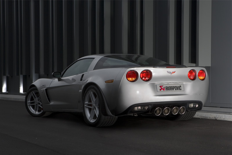 Corvette ZR1 Exhaust