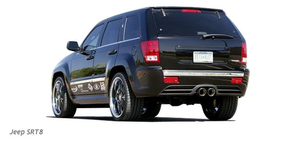 Jeep Grand Cherokee SRT8: …