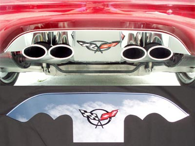 Corvette Exhaust Panel - Corvette Exhaust Plate