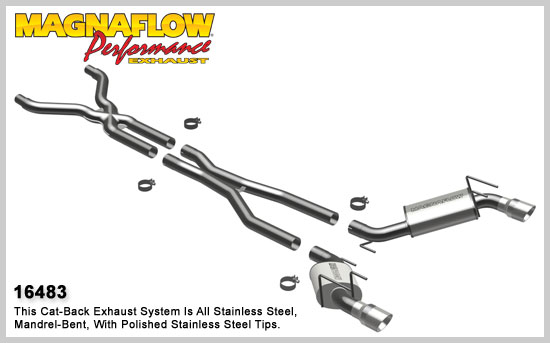 MagnaFlow 16483 Exhaust for the Camaro SS