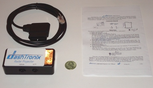 Camaro  on Dashtronix Radar Detector Projector Camaro Radar Detector Hud