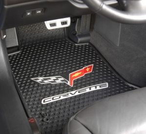 C6 Corvette Rubber Floor Mats