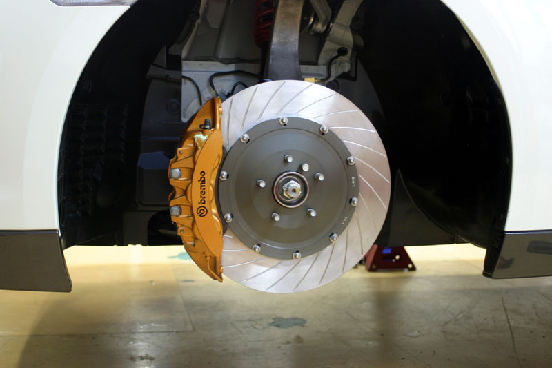 Big Brake Performance Rotor kits for the Nissan GT-R