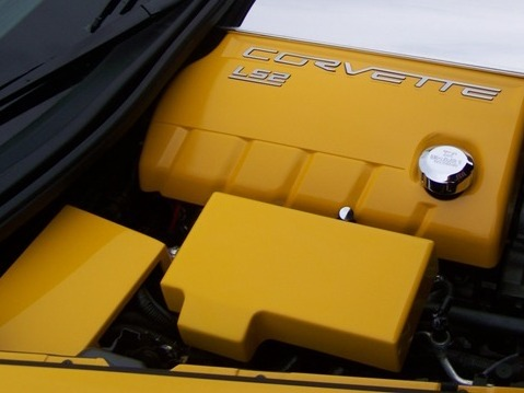 Corvette C6 Painted Fuse Box Cover