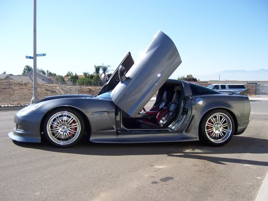 Corvette Lambo Doors-Corvette vertical Doors-Corvette Door Conversion ...