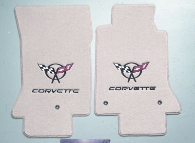 corvette embroidered lloyds mats