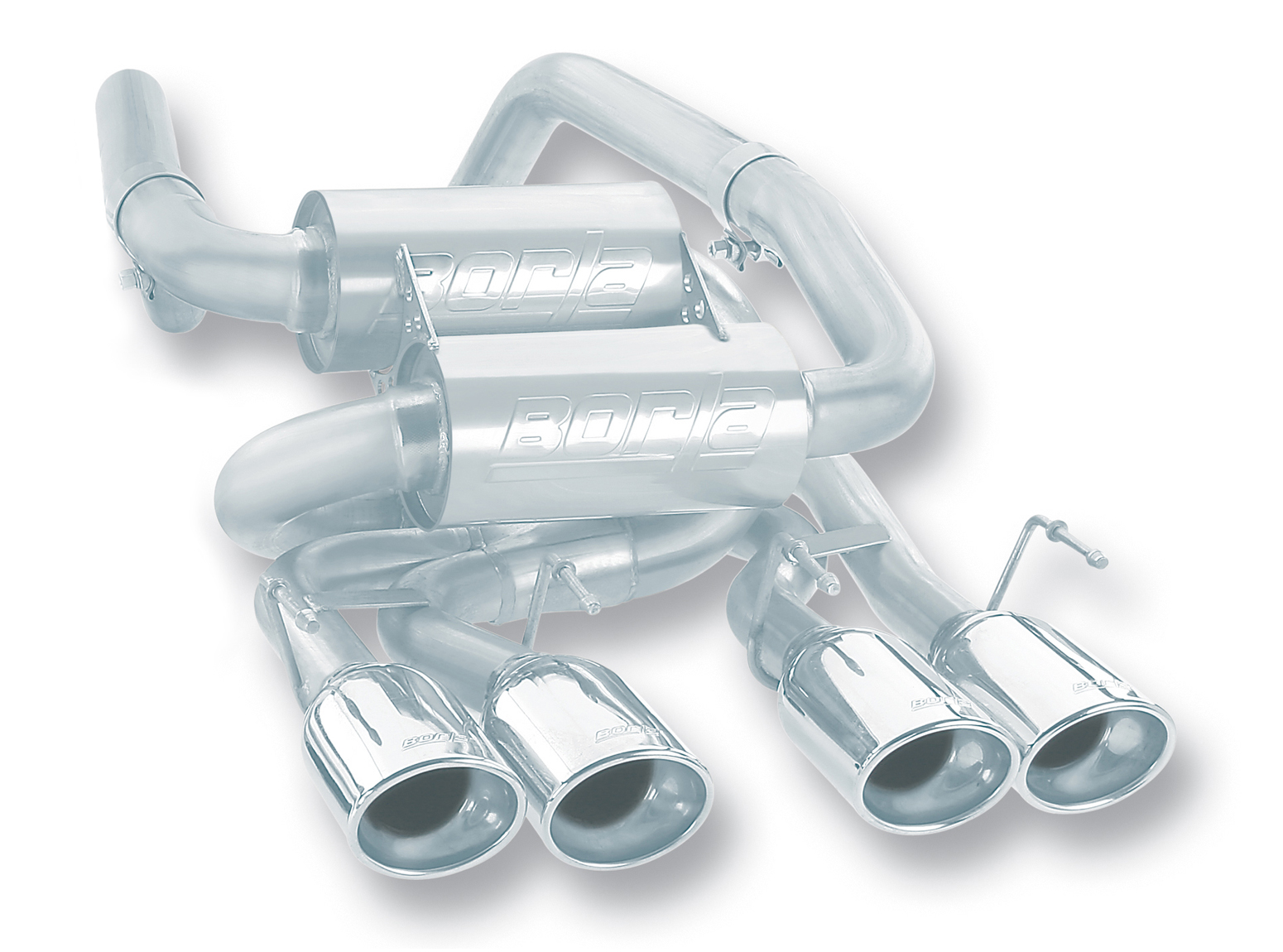 Borla Corvette C6 2009 Exhaust