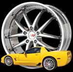 C6 Corvette Custom Wheels