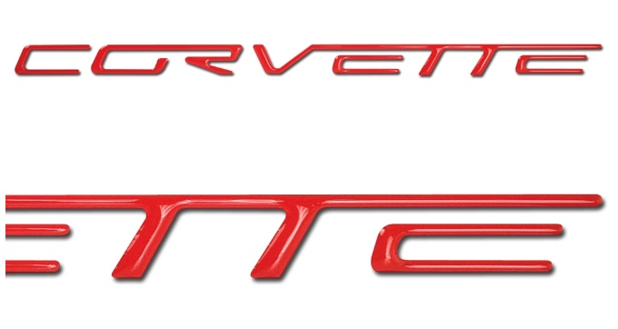 C6 Corvette Dash Letters Available In Cashmere And All