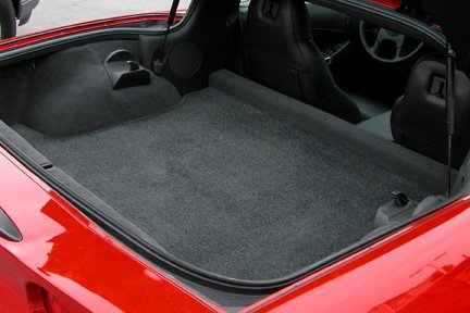 C6 Corvette  Lloyd Cargo Mat and Front Floor Mat Bundle