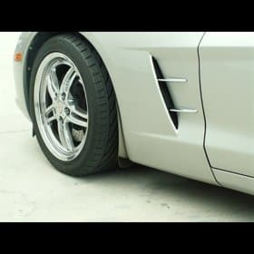 Corvette C6 Retro Style Spear Kit