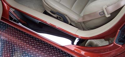 C6 Corvette  Stainless Steel Door Sills