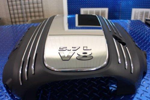 2008-2017 Dodge Challenger 5.7L Stainless Engine Shroud Cover Kit