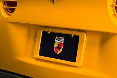 Corvette Altec License Plate Frame