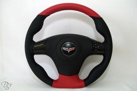 C6 Corvette  Leather DStyle Steering Wheel