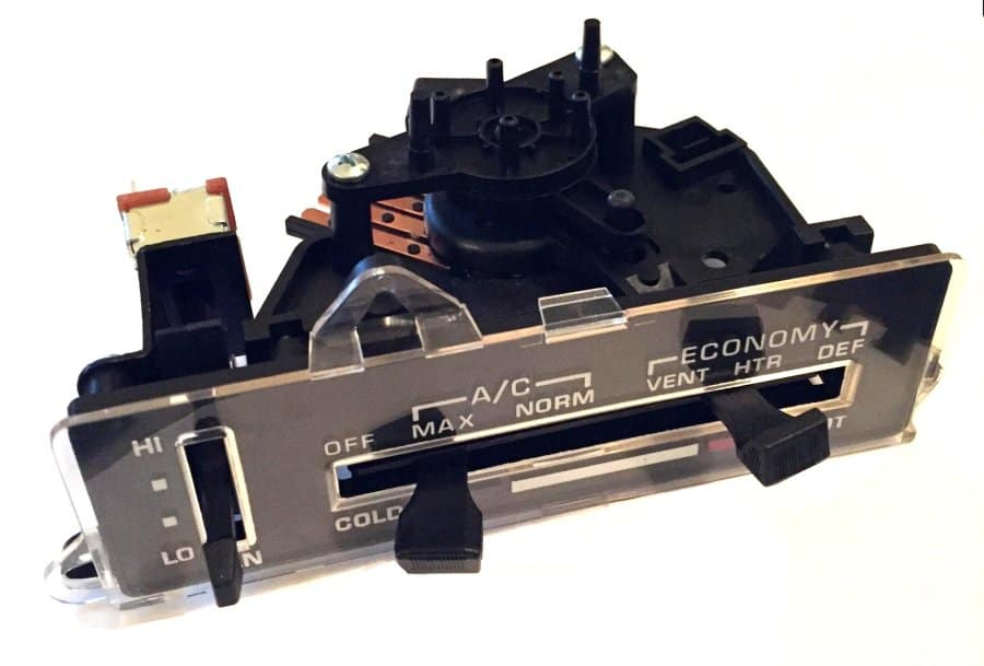 Ac Blowing Hot Air >> 1977-1978 C3 Corvette Air Conditioning / Heater Control Unit Assembly - SouthernCarParts.com