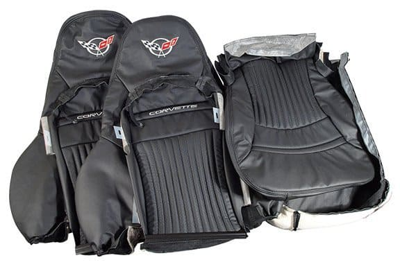 1997 2004 C5 Corvette Replacement Embroidered Leather