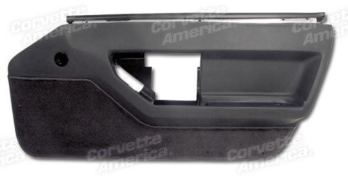 1984 1989 c4 corvette interior standard door panels - C5 corvette interior door panels ...