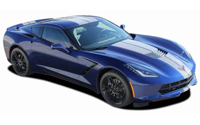 C7 Corvette 2014 2018 Rally Stripes Kit