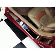 C5 Corvette Polished Doorsills w/Corvette Logo