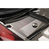 Corvette C5 Perforated Stainless Battery Fuse Box Cover