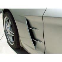 C6 Corvette  Chrome Retro Vent Spears