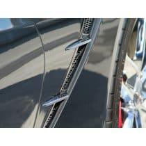 C7 Corvette Matrix Series Front Fender Grilles + Spears