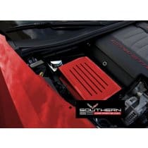 C7 Corvette Custom Painted Steel Fuse Box Cover w/Ribbed Finish