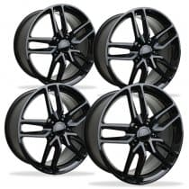 Corvette C6 Z06 Spyder Wheel - Black (Set)