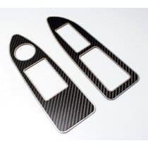 Dodge Challenger Carbon Fiber Door Arm Control Trim 151043