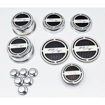 Dodge Challenger R/T Carbon Fiber Engine Caps Covers