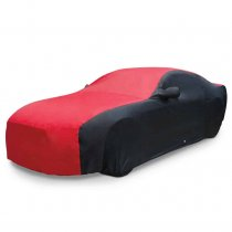 2005-14 Ford Mustang Ultraguard Car Cover Blk/Red