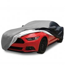 2015-2017 Ford Mustang Ultraguard Car Cover Blk/Slvr