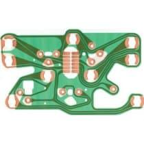 1977-1982 C3 Corvette Console Gauge Printed Circuit