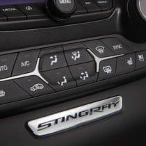 2014-2017 C7 Corvette Stingray Logo Interior Dash Trim Badge