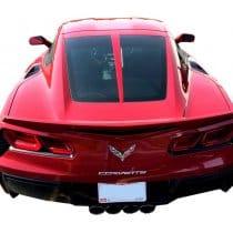 C7 Corvette Painted Rear Split Window Trim