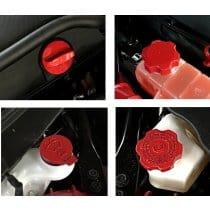 2016-2017 6th Generation Camaro Custom Painted Engine Caps
