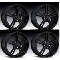 C6 Corvette  08' Style Wheels - Black Set