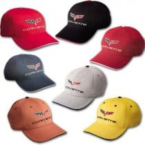 C6 Corvette Cotton Twill Sandwich Hat