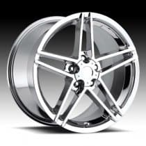 Corvette C6 Z06 Wheel - Chrome