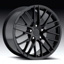 C6 Corvette  ZR1 Wheel - Black