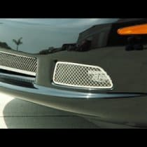 C6 Corvette  Polished Stainless Light Covers