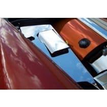 C6 Corvette  4-pc Stainless Inner Fender Covers