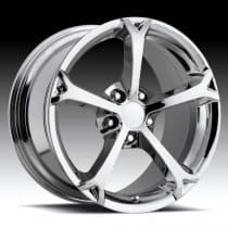 Corvette C6 Grand Sport Style Wheel - Chrome