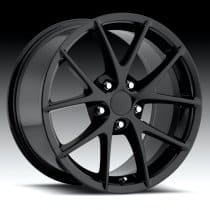 C6 Corvette  Z06 Spyder Wheel - Black