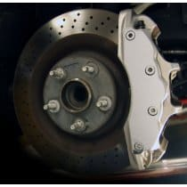 C6 Grand Sport Stainless Steel Caliper Covers