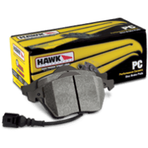 C7 Corvette Brake Pads - Hawk Ceramic - Front NON Z51 HB453Z.585