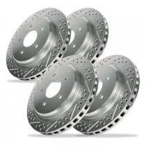 2010-2013 Camaro V6 Baer DecelaRotor Brake Rotors