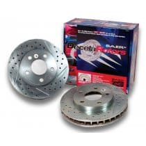 C6 Corvette Brake Rotors Baer Decelarotors